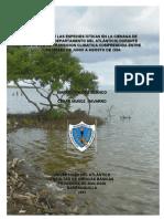 INVENTARIO DE LAS ESPECIES ÍCTICAS EN LA CIENAGA DE MALLORQUÍN (DEPARTAMENTO DEL ATLÁNTICO) DURANTE UNA EPOCA DE TRANSICION CLIMATICA COMPRENDIDA ENTRE LOS MESES DE JUNIO A AGOSTO DE 2004