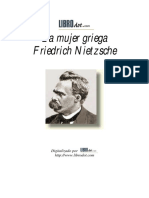 NIETZSCHE, Friedrich, La Mujer Griega.pdf
