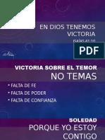En Dios Tenemos Victoria