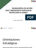 Lineamientos APA y Presupuesto Popular 2020