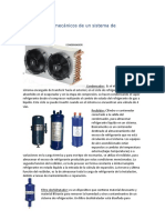 Componentes mecánicos de un sistema de refrigeración.docx