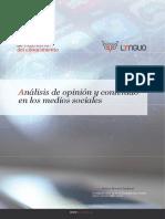 Analisis de opinicón y contenido en los medio sociales - Antonio Moreno Sandoval