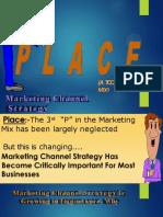 Place- Third marketing Mix Element