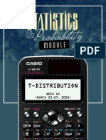 Lesson 3- t-Distribution (Module)