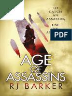 Age of Assassins - RJ Barker