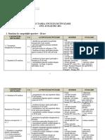 Proiectarea unitatilor de invatare PST - cls XI