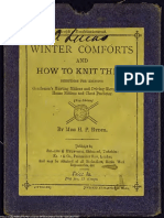 1876 Winter comforts and how to knit them