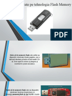 Dispozitive bazate pe tehnologia Flash Memory