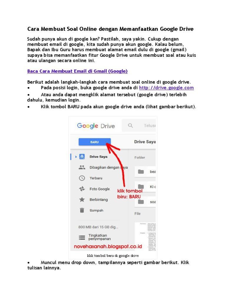 36+ Cara Membuat Alamat Google Drive mudah