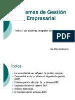 3. Los Sistemas Integrados de Gestion