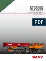 sany 60t crane loading chart