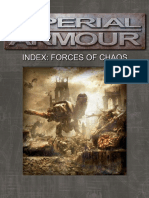 Warhammer 40,000 - Imperial Armour - Index - Forces of Chaos