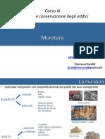 Corso di Recupero e conservazione degli edifici Murature.pdf