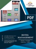 BEST HOTEL MANAGEMENT COACHING INSTITUTE/CENTER IN DELHI, JANAKPURI, UTTAM NAGAR