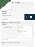 Aula 02 - Aulas Algoritmos e Estruturas de Dados - Tipos, instrucoes, outros recursos - v16 (Python).pdf
