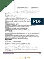 Série d'exercices - Math etudes de fonction - 3ème Mathématiques (2011-2012) Mr hassine dhaker