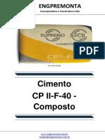Cimento CP II-F-40 - Composto