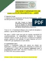Apostila - Constitucional -  ADPF