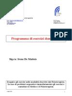 programma De Matteis  caviglia.doc