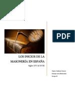 Los Inicios de la Masonería en España