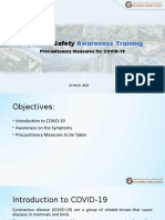 COVID-19 Awareness Training