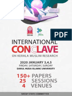 Research Conclave on Kerala Muslim Research 2020