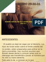 Deuteronomio 29-30-31