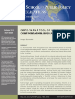 COVID-19 as a tool of information confrontation
