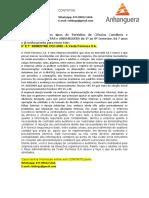 6° E 7° SEMESTRE CCO 2020 - A Veste Formosa S.A.