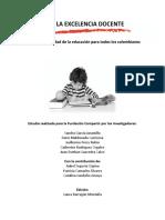 EXCELENCIA DOCENTE - FUNDACIÓN COMPARTIR