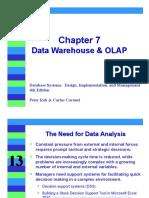 Chapter 7 Data Warehouse & OLAP(3)