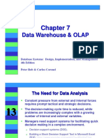 Chapter 7 Data Warehouse & OLAP
