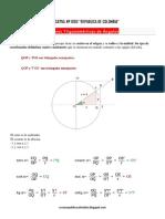 Razones Trigonometricas de Angulos en La Circunferencia Ccesa007