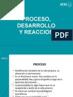 3. Proceso, Desarrollo y Reaccion