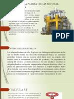 equipos de la planta de gas