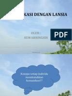 KOMUNIKASI DENGAN LANSIA(2)