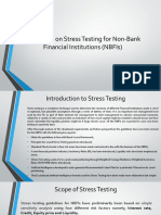 Guidelines on Stress Testing for NBFI