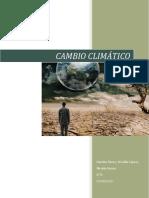 CAMBIO CLIMÁTICO Ciencias de La Ciudadanía
