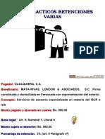 EJERCICIOS RETENCIONES 2012 (1)