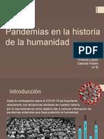 Pandemias en La Historia de La Humanidad ppt pdf