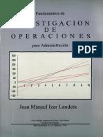 Izar Landeta Juan Manuel - Investigacion De Operaciones Para Administracion.pdf