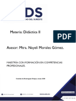 DidActica II, semana II. MECP