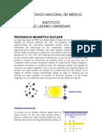 RESONANCIA MAGNÉTICA NUCLEAR