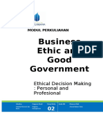 Bussiness Ethic and Good Government chap 2 modul 29032017