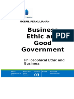 Bussiness Ethic and Good Government chap 3 modul 29032017