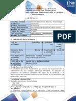 Guía de actividad y rúbrica de evaluación - Tarea 2 - Genética y Biotecnología (2)
