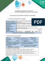 Guía de ruta y avance de ruta para la realimentación - Fase 2 - Comunidades Solidarias