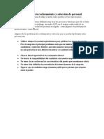5. PROBLEMAS DE RECLUTAMIENTO