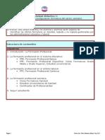 UD 1 CONFIGURACION FORMATIVA DEL SECTOR SANITARIO
