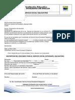 PROYECTO SERVICIO SOCIAL ESTUDIANTIL  OBLIGATORIO.pdf